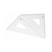 SET SQUARE SET - 26CM 45 & 60 DEGRESS SET 2 NO.8