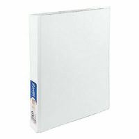 2 RING BINDER -2D WHITE STANDARD
