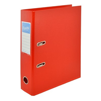 LEVER ARCH BINDER - RED 70MM