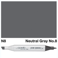 COPIC MARKER N8 NEUTRAL GRAY NO.8