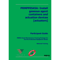 INSTALL GASEOUS AGENT CONTAINERS