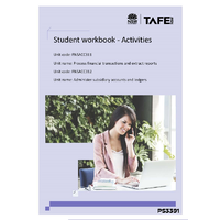 FINANCIAL TRANSACTIONS & SUBSIDIARY ACCOUNTS - STUDENT WORKBOOK