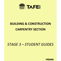 CARPENTRY STAGE 3 STUDENT GUIDE 2019