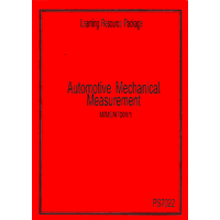 AUTOMOTIVE MECHANICAL MEASUREMENTS